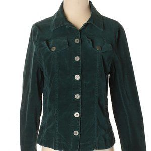 [a51-6] Westbound   forest green jacket
